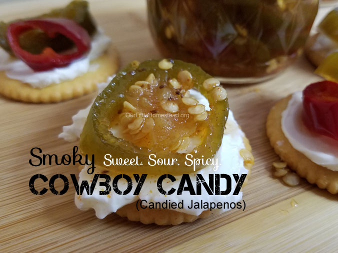 Smoky Cowboy Candy (Candied Jalapeños)