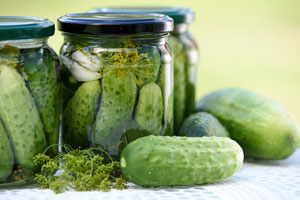 fermented cucumber recipe dill