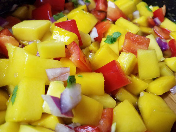 mango salsa canning recipe no tomatoes