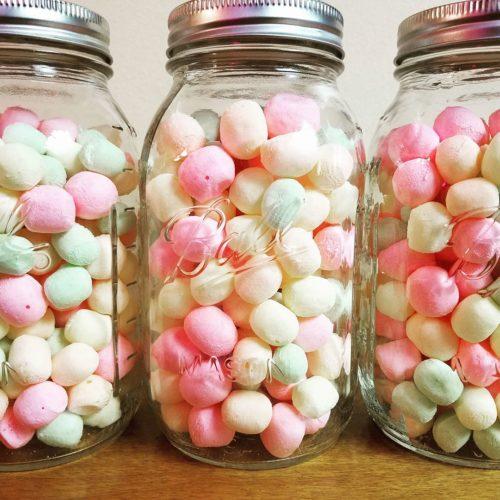 dehydrated marshmallows - Unicorn Poop