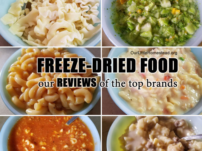 Freeze-Dried Food Reviews