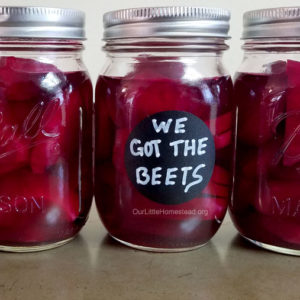 roasted beets canning recipe