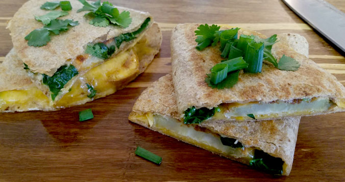 Sweet Potato Quesadilla Recipe